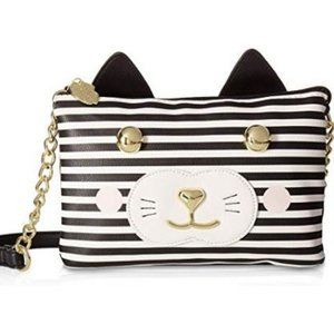 NWT Luv Betsey Johnson Womens Double Crossbody bag